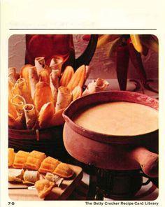 Mexican midnight fondue - Betty Crocker e-recipe cards for 15 fondues