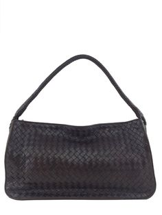 Bottega Veneta Intrecciato Woven Leather Shoulder Bag