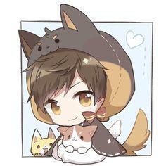Nguồn : Duitang (@N_Đ) Dibujos Anime Chibi, Cute Anime Chibi, Kawaii Chibi, Cute Anime Guys, Kawaii Anime Girl, Anime Love, Manga Anime, Anime Art, Por Tras Das Cameras