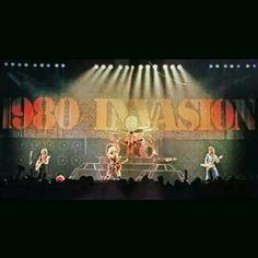 """""""The Mighty Van Halen,...World Invasion Tour Circa 1980!"""" #evh #eddievanhalen #alexvanhalen #diamonddave #davidleeroth #michaelanthony #worldinvasiontour #1980 #Rock #Music #vantastikhistory #Vantastik #VanHalen"""