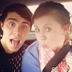 Louise (SprinkleofGlitter & SprinkleofChatter) and Alfie (PointlessBlogTV)!