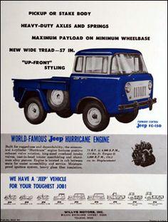 Jeep Forward Control Trucks - MoparWiki
