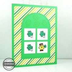 DeNami Design Blog: Chickie St Patrick's Day Card