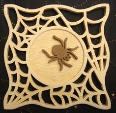 My Journey As A Scroll Saw Pattern Designer #385: Along Came a Spider . . . - by Sheila Landry (scrollgirl) @ LumberJocks.com ~ woodworking community