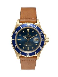 Rolex 18k Yellow Gold Oyster Perpetual Submariner Date (c. 1980)