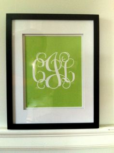 The Old Post Road: Printable Monograms great for bottle cap jewelry, glass tile jewelry & fridge magnets too! #ecrafty