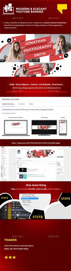 Ultimate Youtube Banner Banners, Youtube and Graphics - youtube banner template photoshop