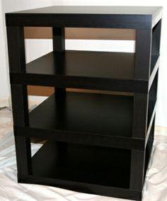vinyl cabinet on pinterest ikea hackers lps and ikea lack. Black Bedroom Furniture Sets. Home Design Ideas