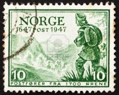 Norway, Letter Carrier, about 1700, ca 1947