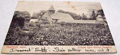 Chapel at Heathfield School - Ascot - Antique 1906 Postcard Ascot, Postcards, Antiques, School, Antiquities, Antique, Old Stuff, Greeting Card