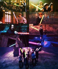 Harry Potter/Star Wars
