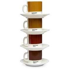 Coffee/tea-coloured Pantone mugs! Not currently available, it seems.