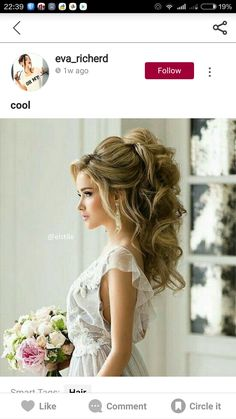 Wedding hair!!! Beautiful!!!