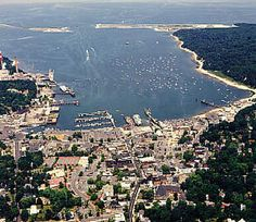 Port Jefferson, Long Island.  Caden either lives here or in Stony Brook.  I haven't decided which.