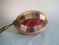Craft Idea. Small Handbag Purse Patchwork. Photo Tutorial. Step by step DIY.