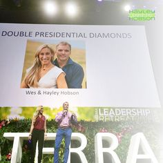 I'm starting off my week by reflecting on how amazing last week was. The doTERRA Leadership Conference was incredible! I love my doTERRA family, and the opportunity to speak to everyone in attendance was such a highlight for me. More than anything, it reminded me of how far I've come in these last three years. But best of all, this same success is possible for all of you! If you work hard for it, I promise you that you can be on stage with me as a Diamond three years from now as well…