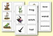 'Room on the Broom' Matching Cards