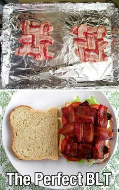 We recently have become obsessed with BLT's in this house lol Especially with Jersey tomato's and fresh sliced THICK bacon from our butcher shop - it's whats for dinner tonight :-)