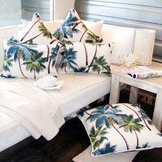 Almofadas decor tropical
