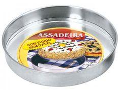 Assadeira Alumínio Fortaleza Redonda - Polido Extra Forte 510024
