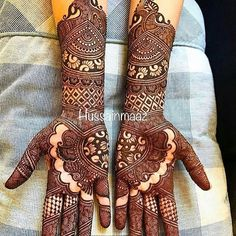Latest Mehendi Designs for Hands & Legs - Happy Shappy