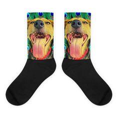 Black foot socks - Doggie