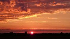 Xperiaで撮影した夕焼け