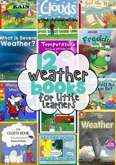 Mrs.Jones' Creation Station - Weather Books for Little Learners
