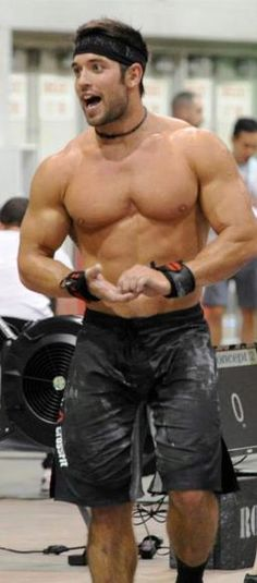 Rich Froning... Crossfit games 3 peat!!! The Man!!!
