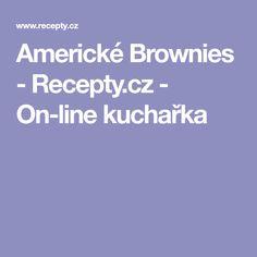 Americké Brownies  - Recepty.cz - On-line kuchařka