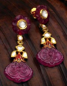 Carved ruby