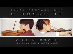 Final Fantasy XIII-2 (Noel's Theme) B Rossette Violin Cover by Jun Sun Ahn (JuNCurryAhn) & Jason Yang!  And JuNCurryAhn is wearing YesStyle's clothes! Check it out on www.yesstyle.com