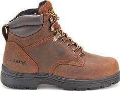 Carolina Mens 6 inch Broad Toe Internal Metguard Boot