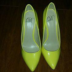 Yellow Heels Beautiful yellow heel. Worn once. Shoes Heels