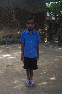 Sham just celebrated a birthday a couple of weeks ago. But this little guy from Bangladesh has been waiting 321 days for a sponsor. Sponsor him today and you can send him a belated birthday greeting.