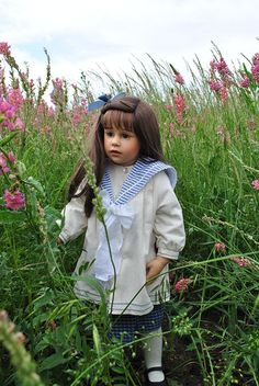 Ромашковое настроение с Анной от Sissel Skille / Коллекционные куклы Sissel Bjorstadt Skille / Бэйбики. Куклы фото. Одежда для кукол
