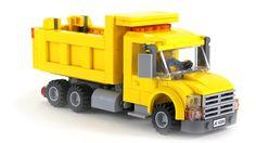 Lego Truck, Micro Lego, Lego Modular, Lego City, Legos, Trucks, Lego Vehicles, Lego Stuff, Lego Ideas