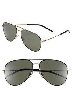 22e2d2c5529d8 Saint Laurent 59mm Aviator Sunglasses