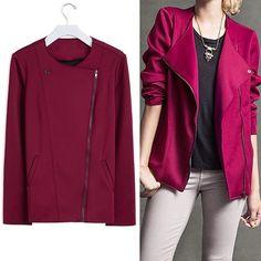 Beautiful and stylish burgundy jacket