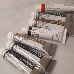 Bought a custom set of Holbein watercolor pigments today. Need brighter colors for my sketches.