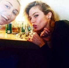 Miley Cyrus is reportedly dating Stella Maxwell a Victoria Secret Model..
