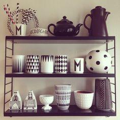 string hylla, string shelf, string regal, pic by ungpudel