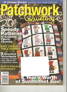 Patchwork Quilting - Deisy Venancio - Picasa Web Albums...FREE MAGAZINE WITH SOME FULL SIZE PATTERN PIECES!