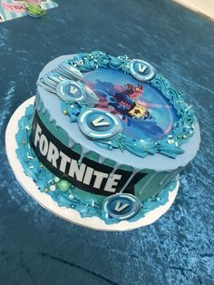41 best Ideas cake for boys birthday fortnite 12th Birthday Cake, 10th Birthday Parties, Boy Birthday, Unicorn Birthday, Playstation Cake, Cake Decorating Books, Decorating Ideas, Video Game Cakes, Beautiful Birthday Cakes