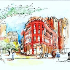 Urban Sketcher - Boston