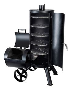 Brinkmann Vertical Trailmaster Smoker and Grill | Bass Pro Shops