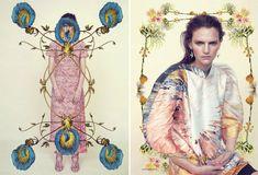 from Harper's Bazaar UK gorgeous spring editorial via Honestly WTF