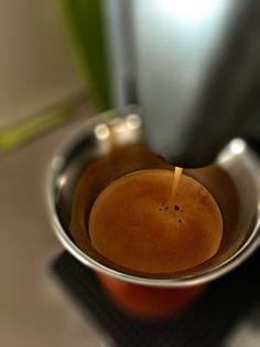 Guten Tag…schön geschlafen und einen #Arpeggio #Kaffe von @Nespresso zum wach werden