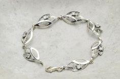 Armbånd i sølv med zirkonia Silver Jewelry, Ring, Rings, Silver Jewellery, Jewelry Rings