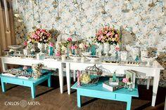 ideias para decorar aniversario de bodas de louça vintage - Pesquisa Google